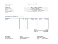 Modèle Facture Excel