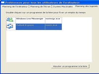 Horaire PC