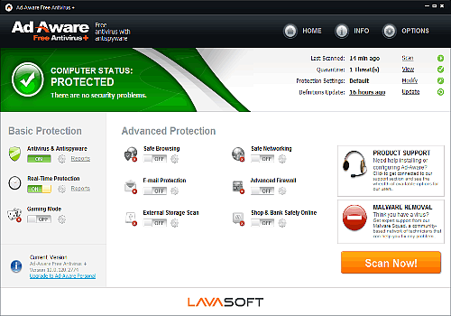 Avast Antivirus Gratuit 2012 Vista