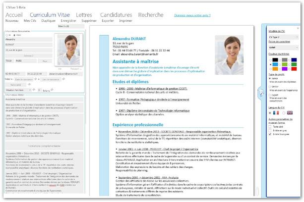 logiciels et applications pour trouver un emploi