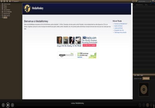 Quels logiciels gratuits pour gérer sa collection de musique ? MediaMonkey-screen