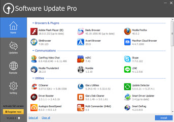 Glarysoft Software Updater Free